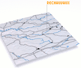 3d view of Rechauvaux