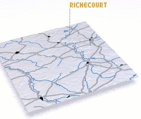 3d view of Richecourt