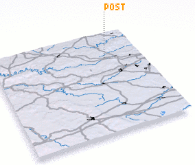 3d view of Post