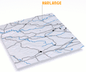 3d view of Harlange