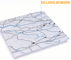 3d view of Villers-la-Chèvre