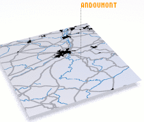 3d view of Andoumont