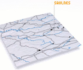 3d view of Saulnes