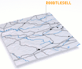 3d view of Roodt-lès-Ell
