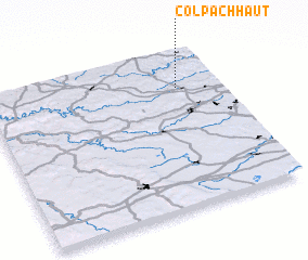 3d view of Colpach-Haut