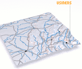 3d view of Usinens
