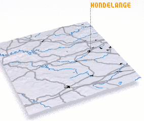 3d view of Hondelange