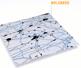 3d view of Hulsbeek