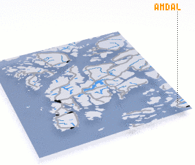3d view of Amdal