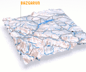 3d view of Bāzgarūn