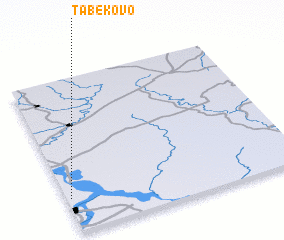 3d view of Tabekovo