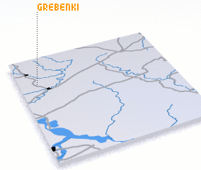 3d view of Grebënki