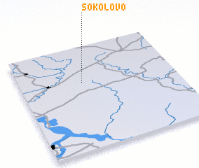 3d view of Sokolovo