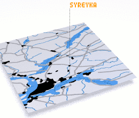 3d view of Syreyka