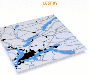 3d view of Lesnoy