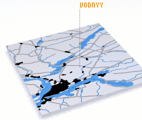 3d view of Vodnyy