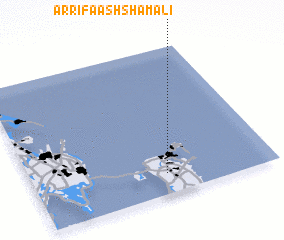 3d view of Ar Rifā' ash Shamālī
