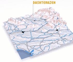 3d view of Dasht-e Māzeh