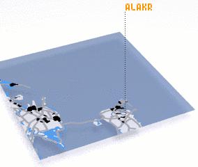 3d view of Al 'Akr