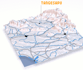 3d view of Tang-e Sapū