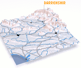 3d view of Darreh Shīr