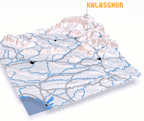3d view of Kalāsghūn