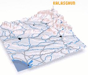 3d view of Kalāsghūn