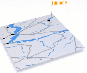 3d view of Tikhony