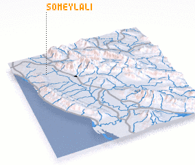 3d view of Someyl 'Alī