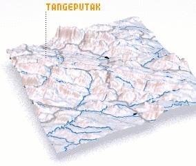 3d view of Tang-e Pūtak