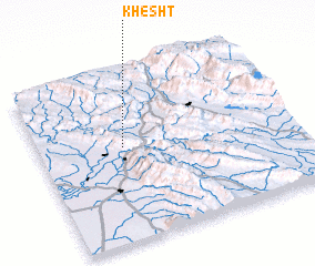 3d view of Khesht