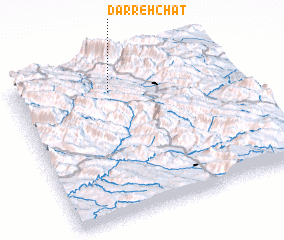 3d view of Darreh Chāt