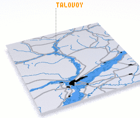 3d view of Talovoy
