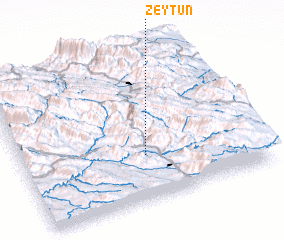 3d view of Zeytūn