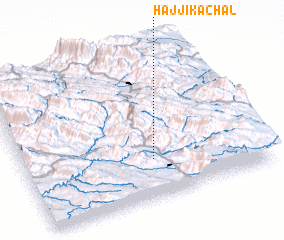 3d view of Ḩājjī Kachal