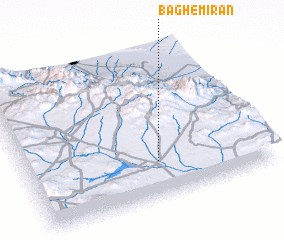 3d view of Bāgh-e Mīrān