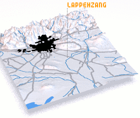 3d view of Lappeh Zang