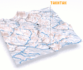 3d view of Takhtak