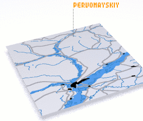 3d view of Pervomayskiy