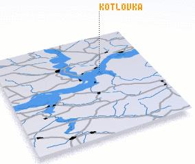 3d view of Kotlovka