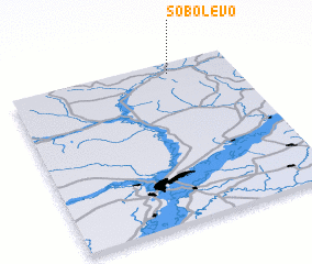 3d view of Sobolevo