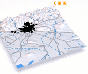 3d view of Changī