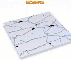 3d view of Nazarovka