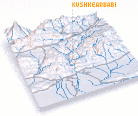3d view of Kūshk-e Arbābī