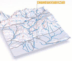 3d view of Shahrak-e Abūz̄ar