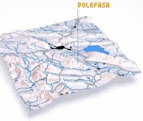 3d view of Pol-e Fasā