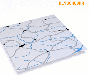3d view of Klyuchëvka
