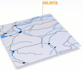 3d view of Kalmiya