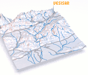 3d view of Vesī Sar