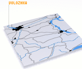 3d view of Volozhka